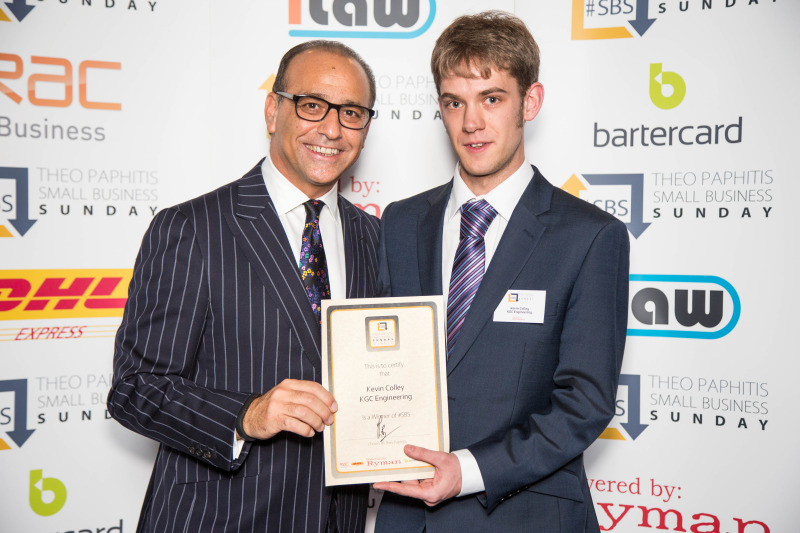 Me with Theo Paphitis